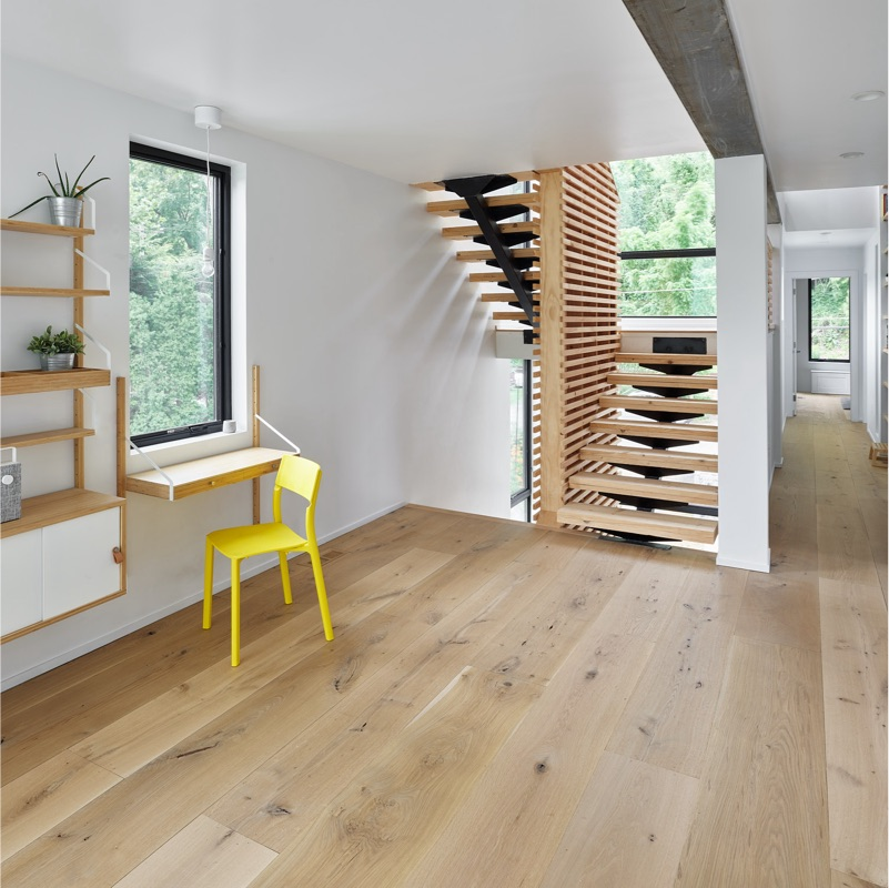Character White Oak - VTPF - Office Stairs