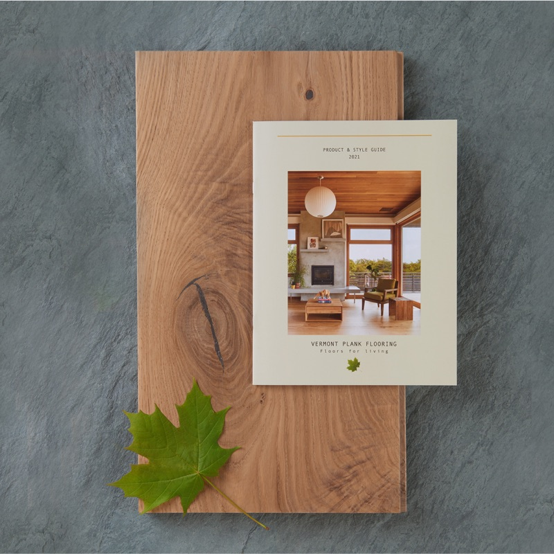 vermont plank sample kit and brochure